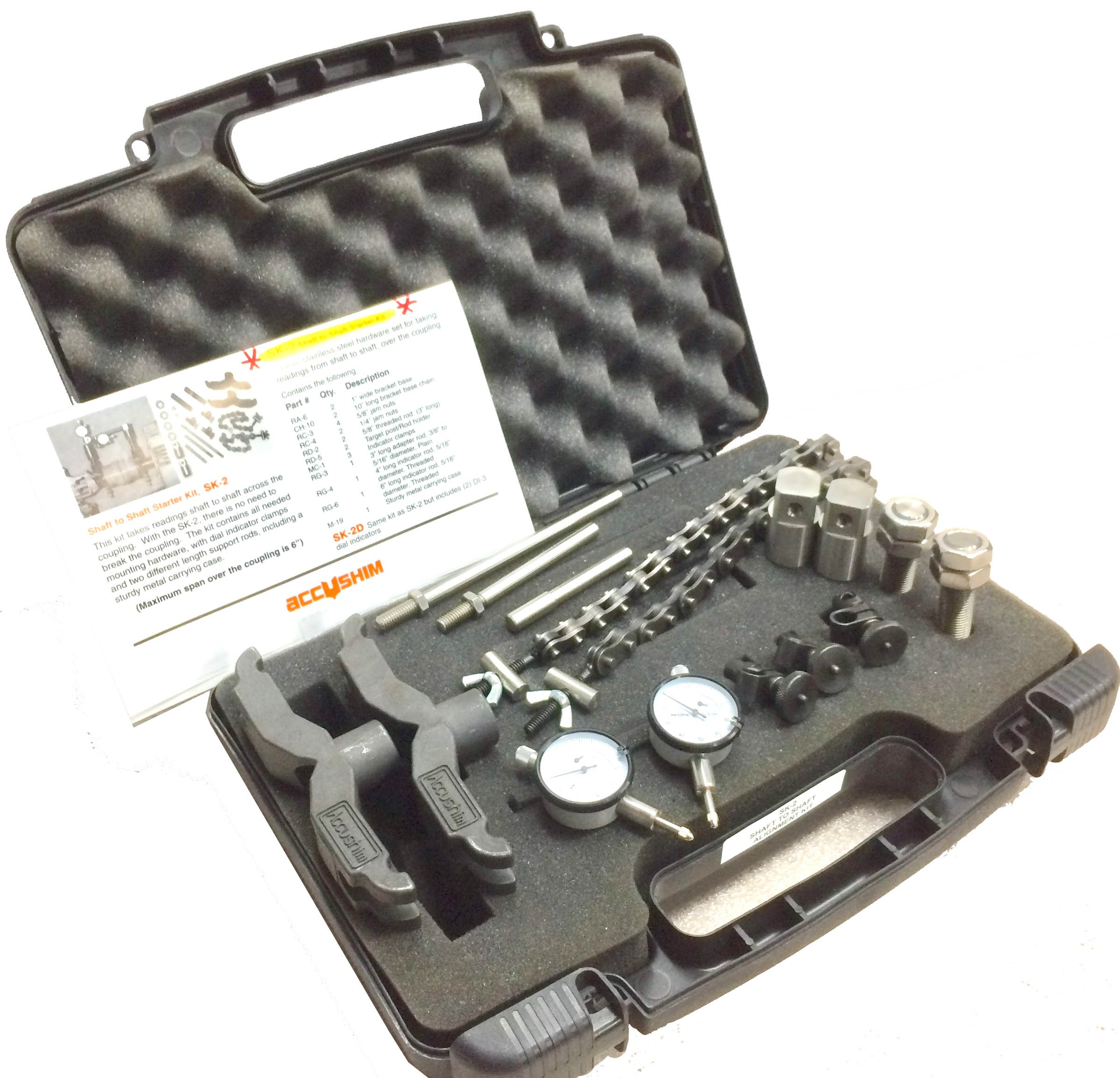 Shaft to Shaft Alignment Starter Kits